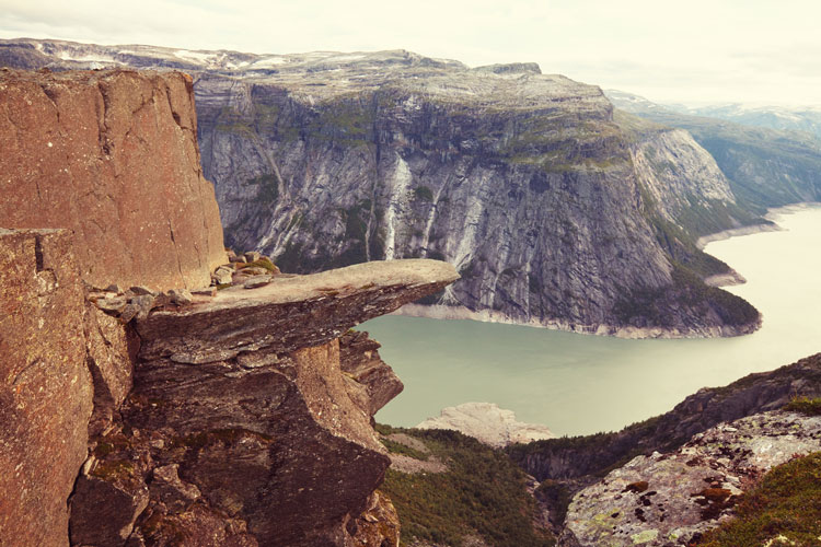 View of Trolltunga