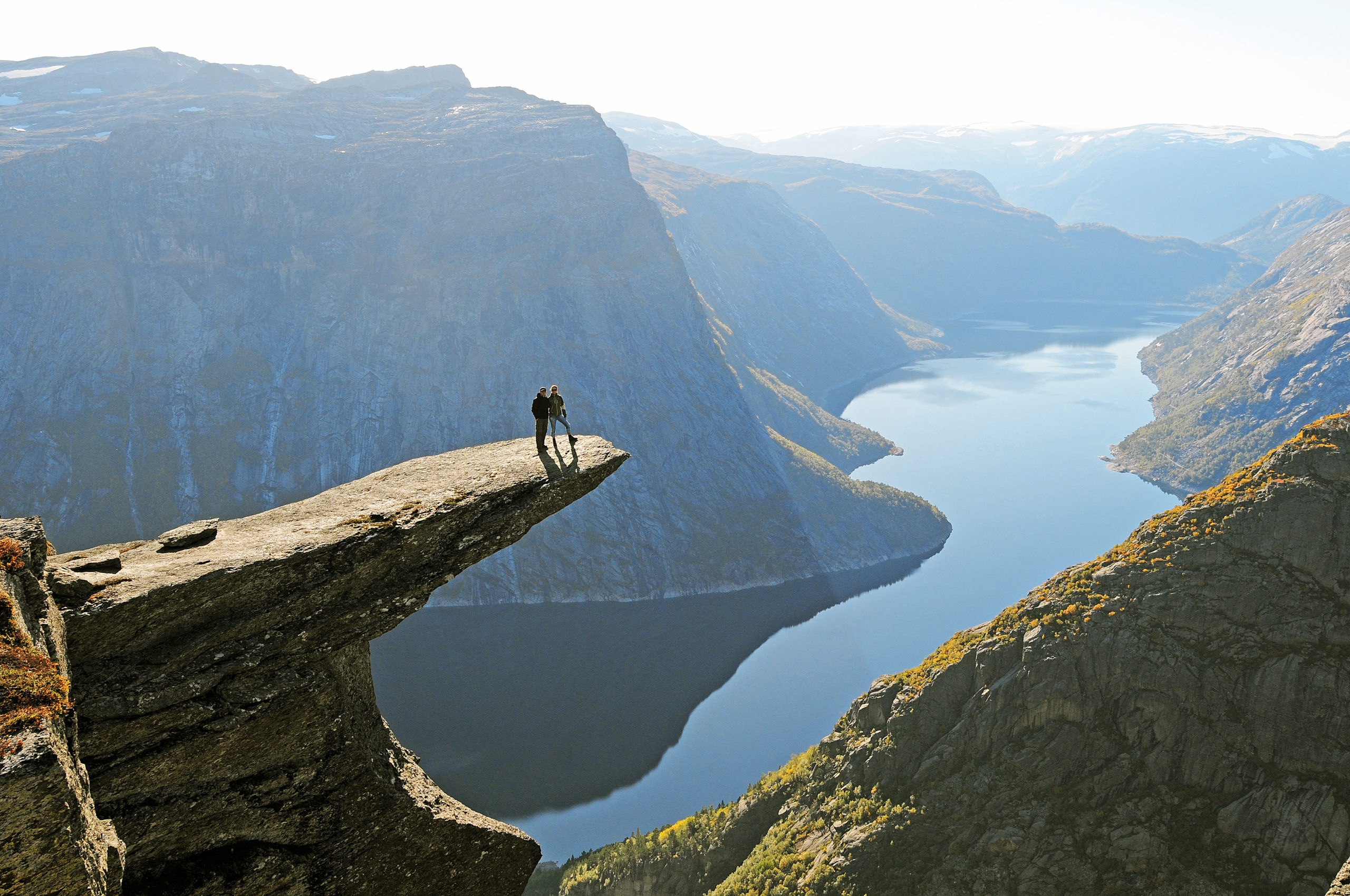 Trolltunga i Odda, Hardanger. © Sveinung Klyve/Fjord Norway