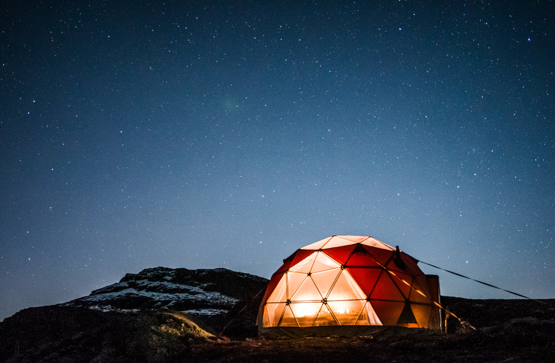 Trolltunga Sunset/Sunrise glamping Dome