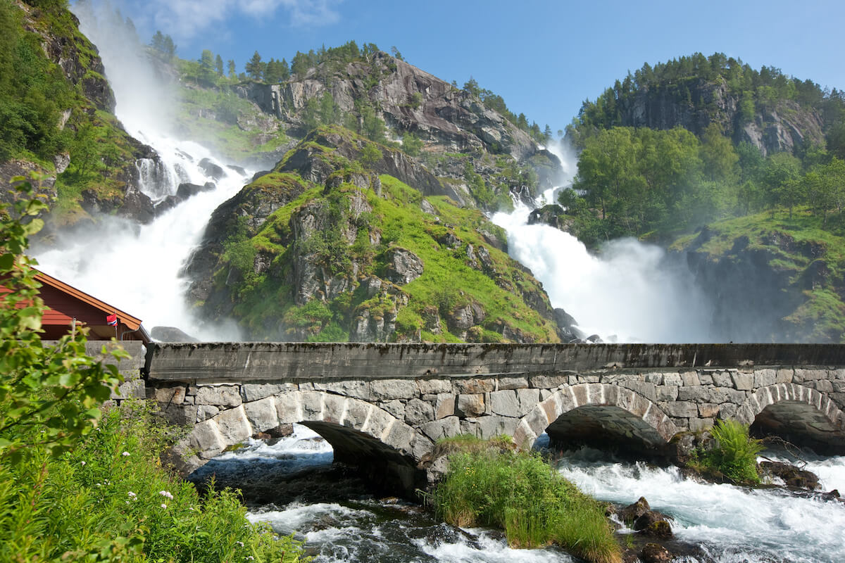Låtefoss - Scott Sporleder/Fjord Norway