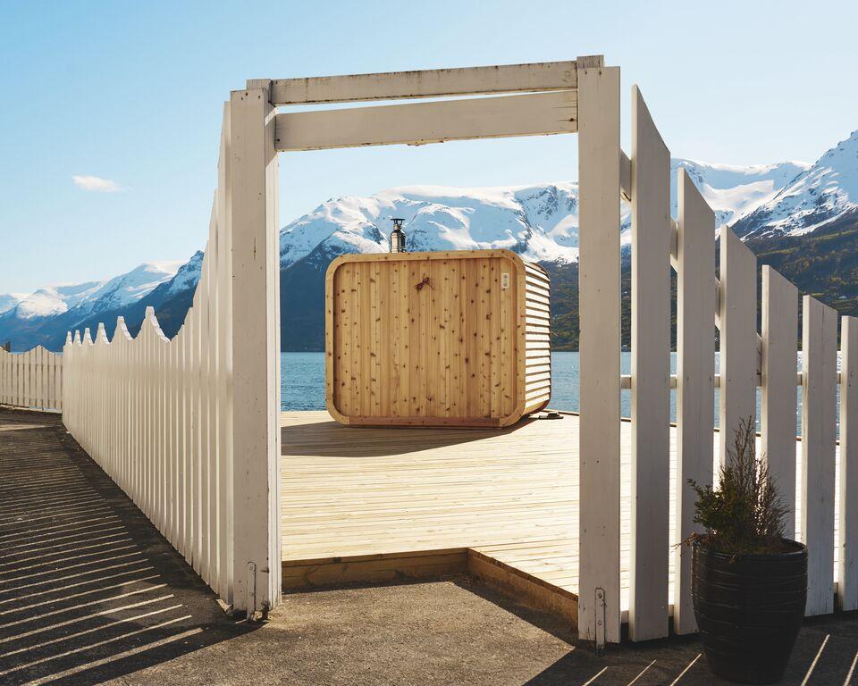 Heit sauna.© Tor Hveem / Visit Norway